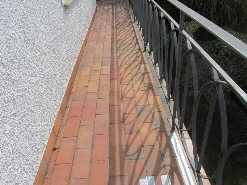 Alte Balkonboden Fliesen