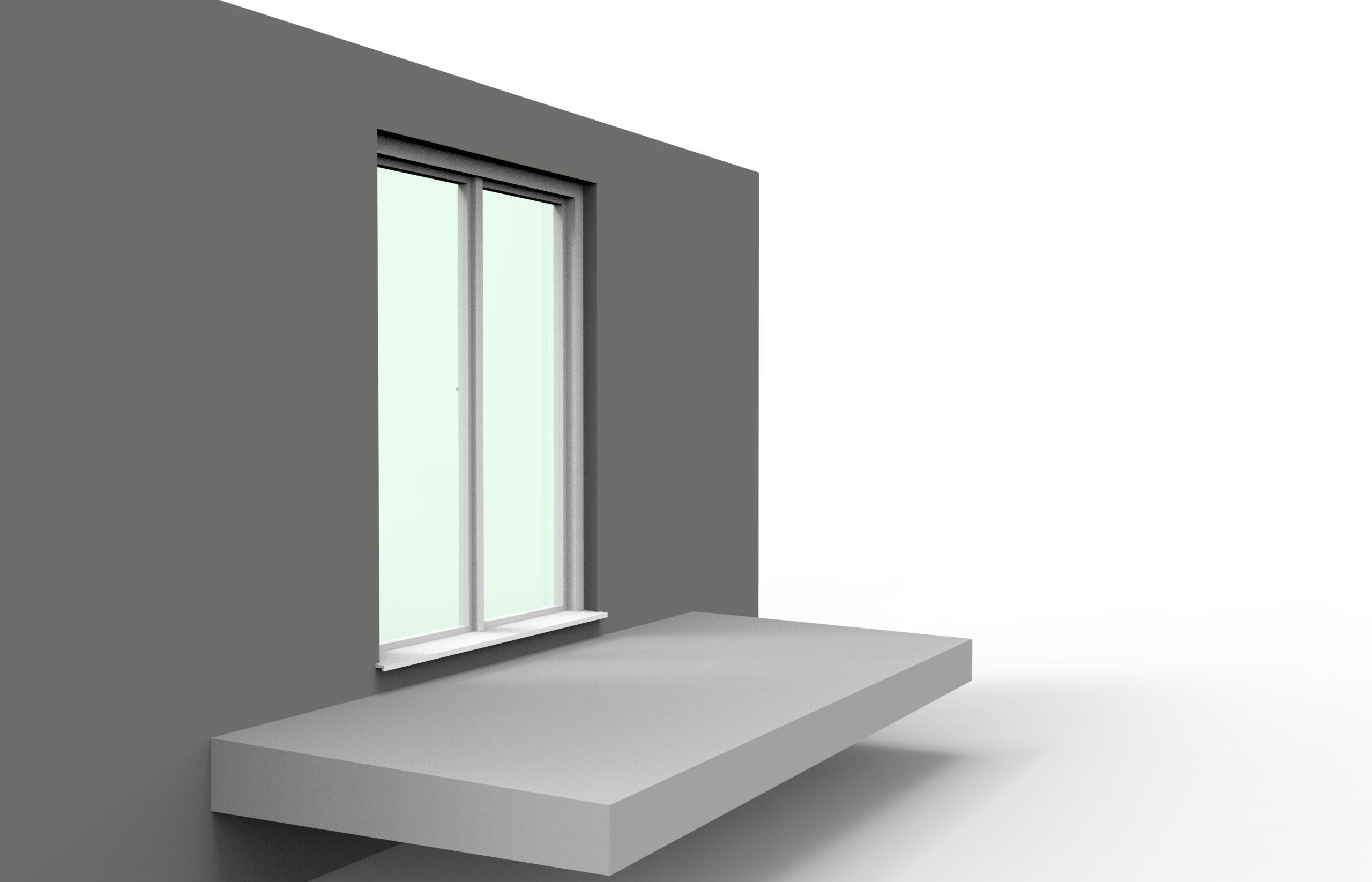 Step 1 - Unterkonstruktion auf Beton oder Fliesen